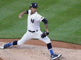 Yankees prospect Deivi Garcia makes his MLB debut against the NY Mets at Yankees Stadium. (Image: Paul J. Bereswill/NY Post)