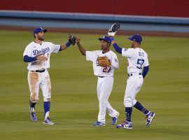 The Los Angeles Dodgers will start their quest for a World Series title against the Milwaukee Brewers on Wednesday night. (Image: Kirby Lee/USA Today Sports)
