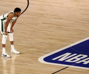Greek Freak Ankle Injury Milwaukee Bucks Miami Heat 0-3