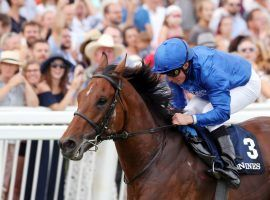 Ghaiyyath and rider William Buick hold the top spot in the Longines World's Best Racehorse Rankings. (Image: Frank Sorge)