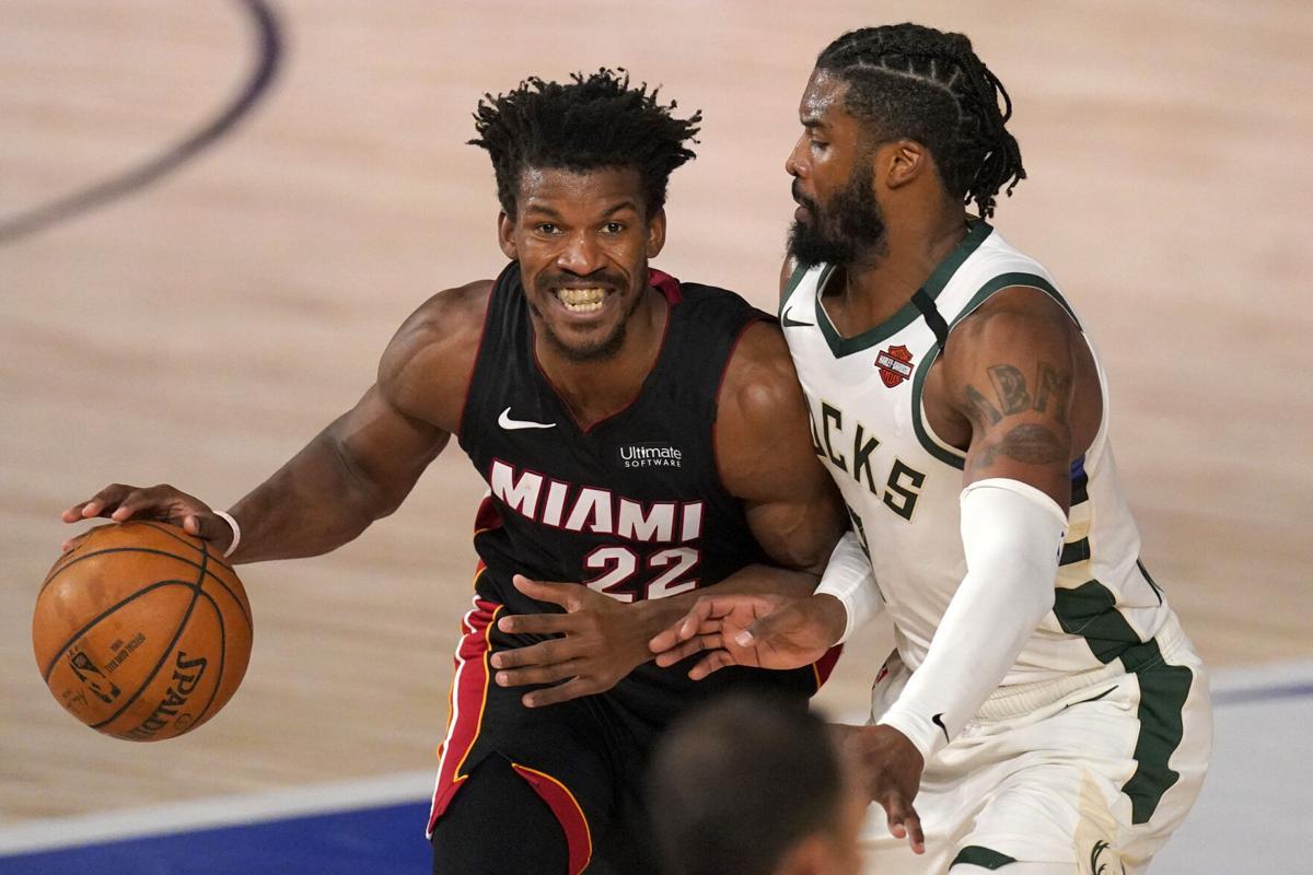 NBA Playoffs Miami Heat Milwaukee Bucks Jimmy Butler