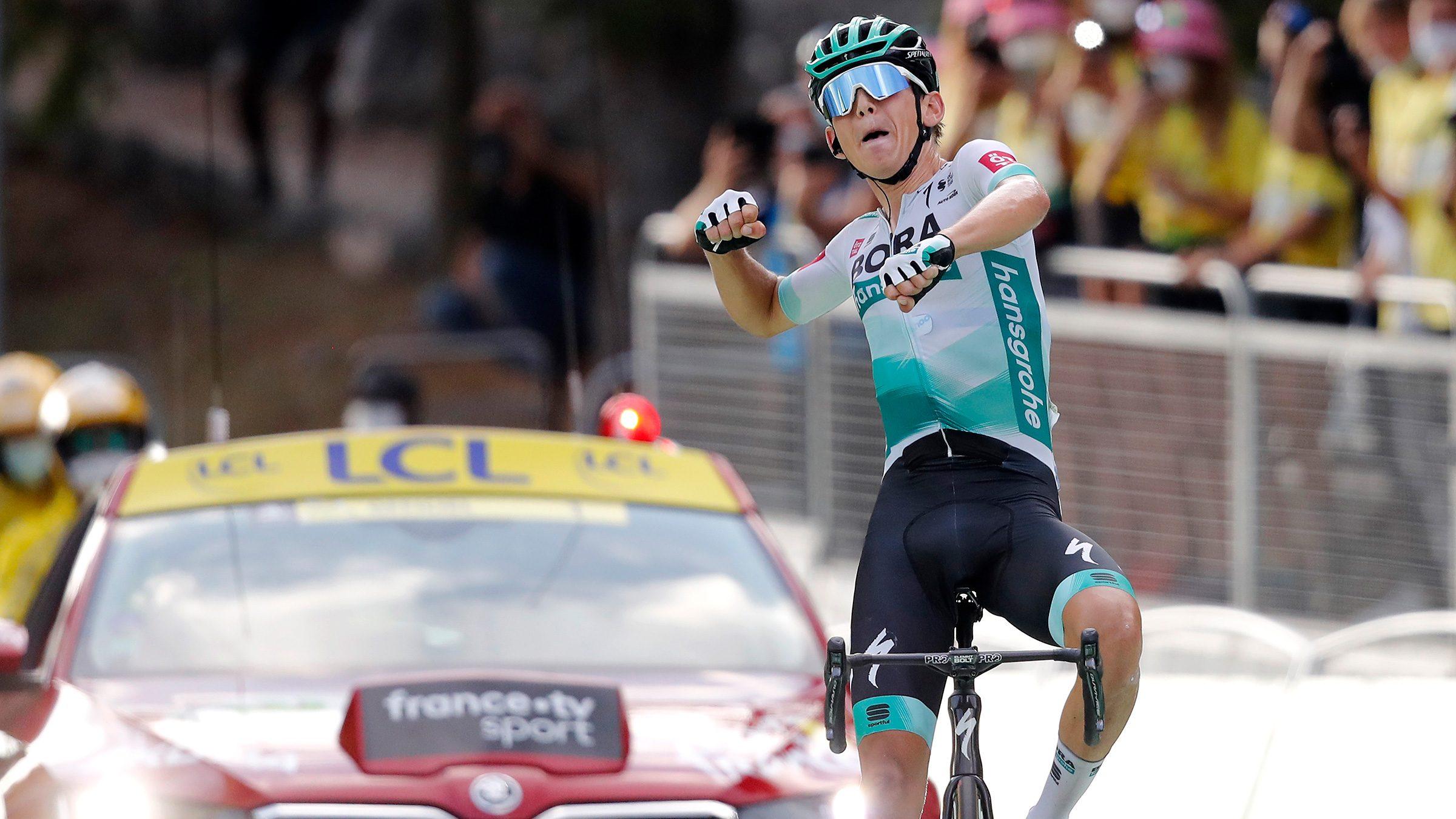 Lennard Kamna Tahap 16 Tour de France