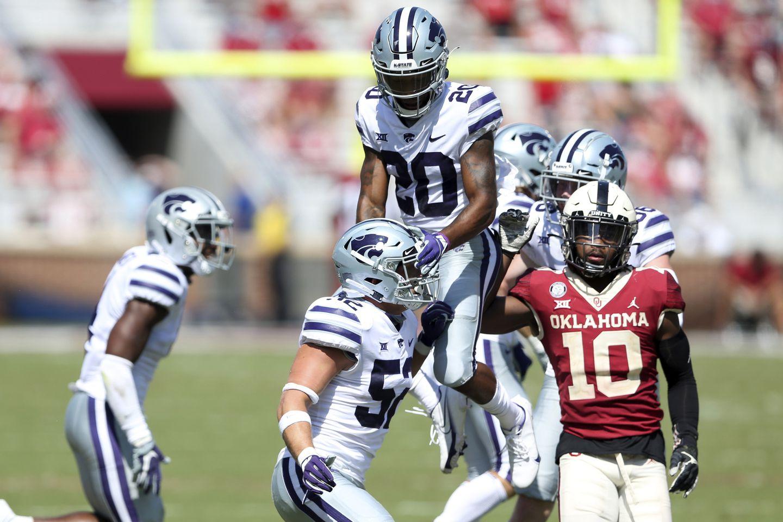 Jajak Pendapat 25 Teratas Kansas State-Oklahoma AP