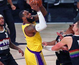LA Lakers Denver Nuggets 3-1 elimination game