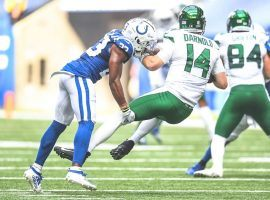 New York Jets QB Sam Darnold had an awful game against the Indianapolis Colts in Week 3. (Image: AP)