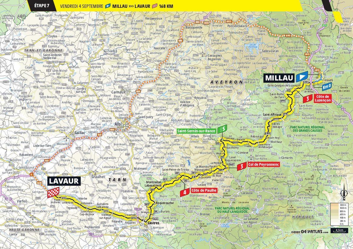 Tour de France Stage 7 Millau > Lavaur
