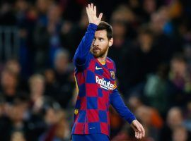 Lionel Messi reportedly agreed to terms on a five-year deal with the City Football Group, but Barcelona isn't letting him go just yet. (Image: Eric Alonso/Getty)