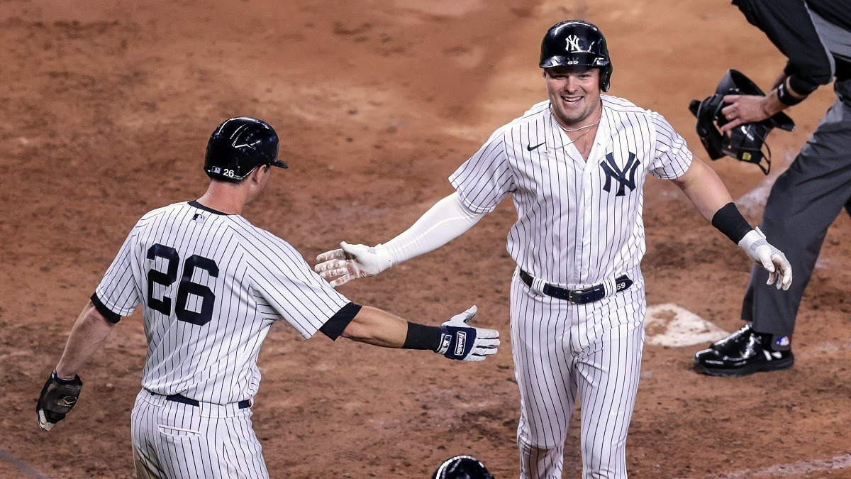 Luke Voit Hot Player Home Run Leader HR Yankees