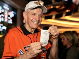 Mattress Mack aka Jim McIngvale wagered $3.5 million on the Houston Astros in Biloxi, Mississippi last October. (Image: AP)