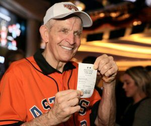 Mattress Mack Houston Astros bet wager World Series Twins Minnesota