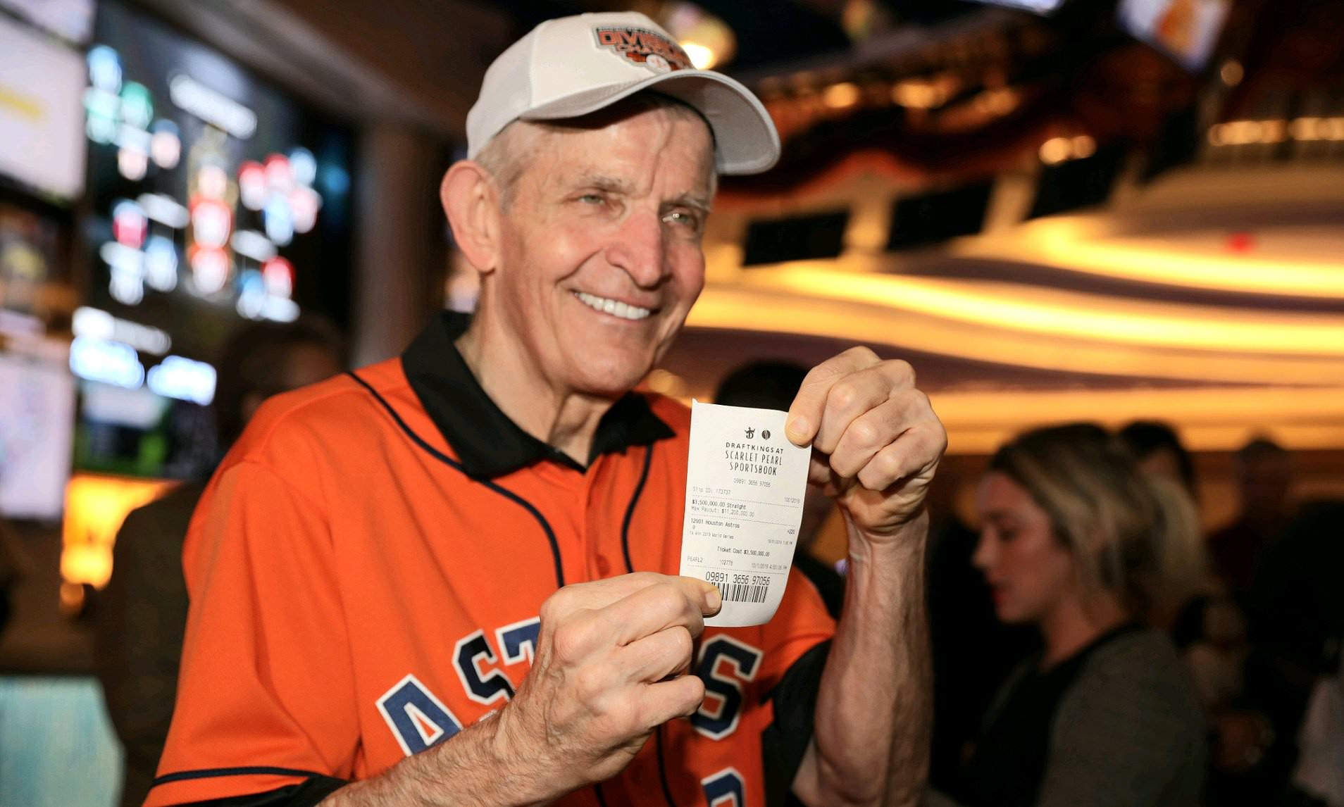 Mattress Mack Houston Astros bet wager World Series Twins Minnesota