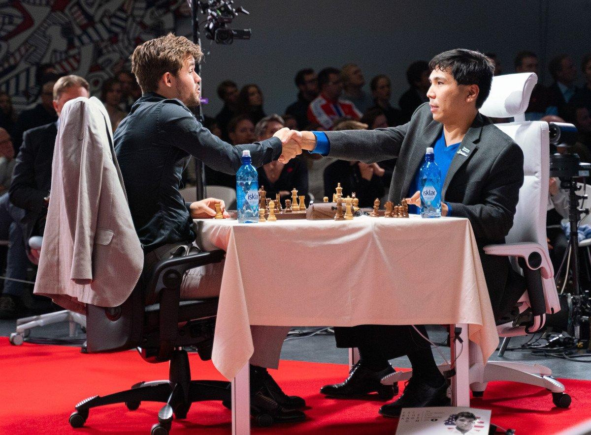 Magnus Carlsen Wesley So