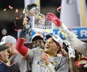 2021 Super Bowl odds 54 LV Kansas City Chiefs