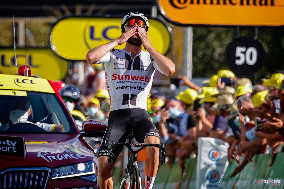 2020 Le Tour de France Stage 12 Sarran Marc Hirschi Sunweb