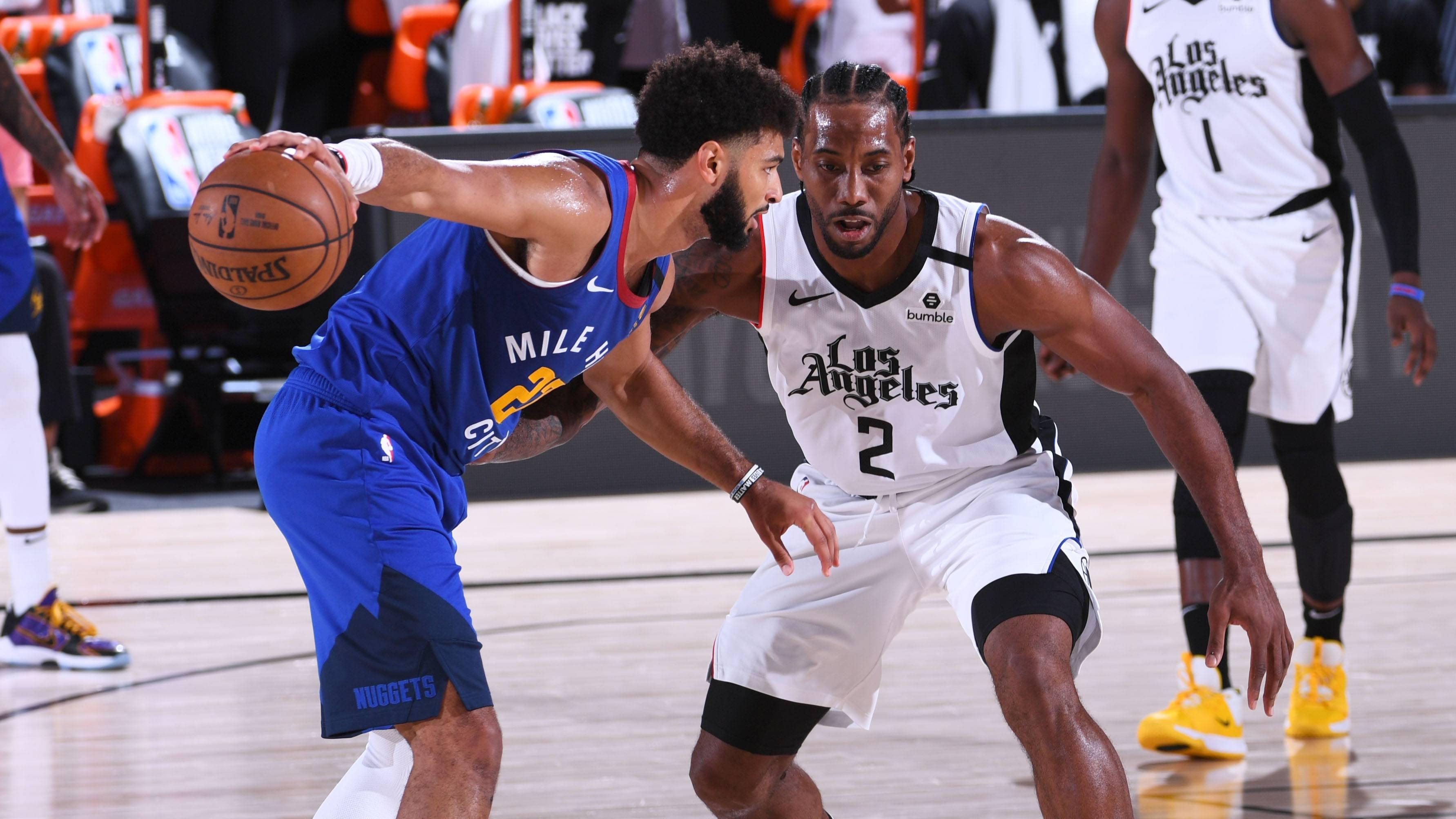 Denver Nuggets LA Clippers Jamal Murray Kawhi Leonard NBA Playoffs