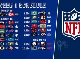 The NFL season returns with Week 1 action. (Image: Rich Eisen/YouTube)