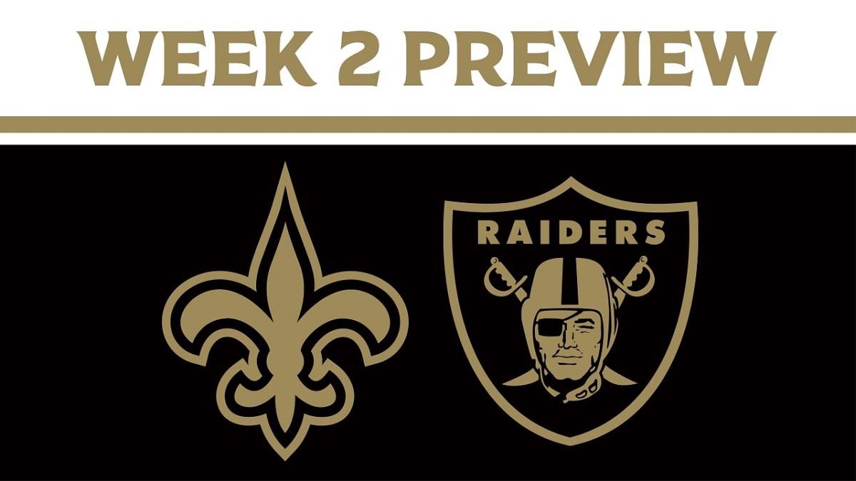 MNF SNF Gotta Get Unstuck Week 2 New Orleans Saints Las Vegas Raiders Seattle Seahawks New England Patriots