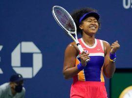 Naomi Osaka enters the 2020 US Open final as a modest favorite over Victoria Azarenka. (Image: Seth Wenig/AP)