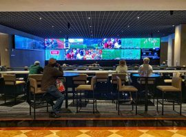 New Jersey sportsbooks set a new monthly high for betting handle in the United States during August. (Image: Todd Prince/Las Vegas Review-Journal)