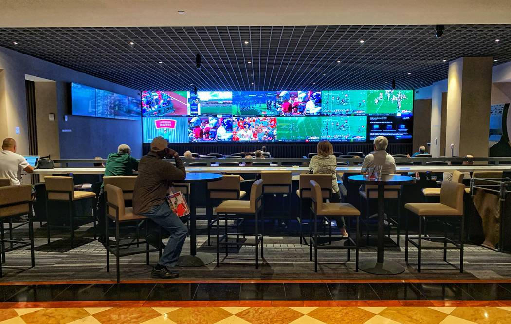 New Jersey sportsbooks record