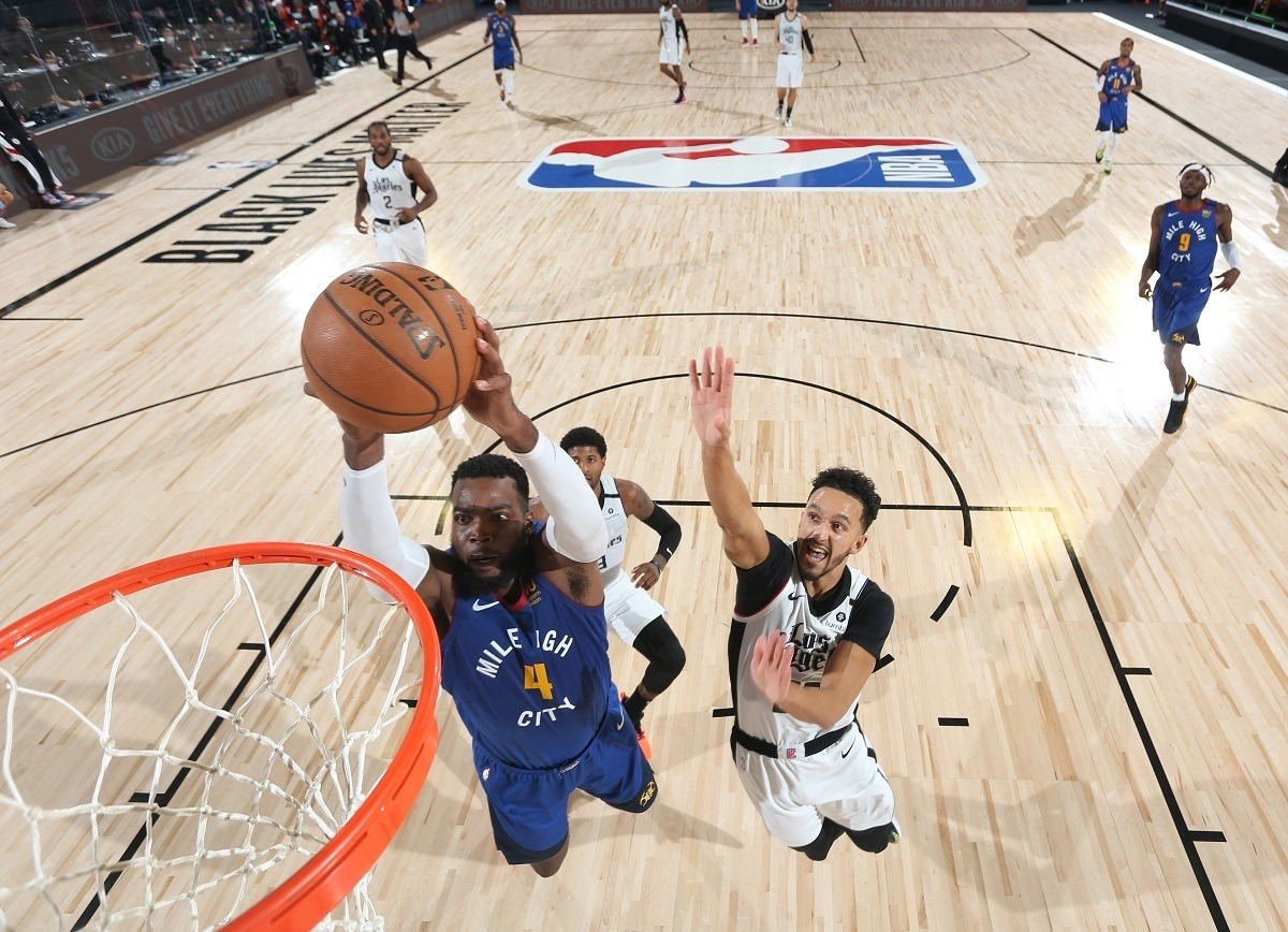 Paul Millsap Denver Nuggets LA Clippers Comeback