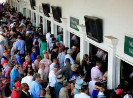 A spectator-free Churchill Downs for Saturday's Kentucky Derby might thn the in-person betting herd. But plenty of wagers will go down across the risk-reward spectrum. (Image: Getty)