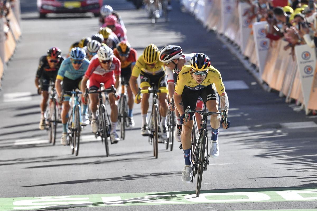 Primoz Roglic Tour de France Stage 4 Orcieres-Merlett