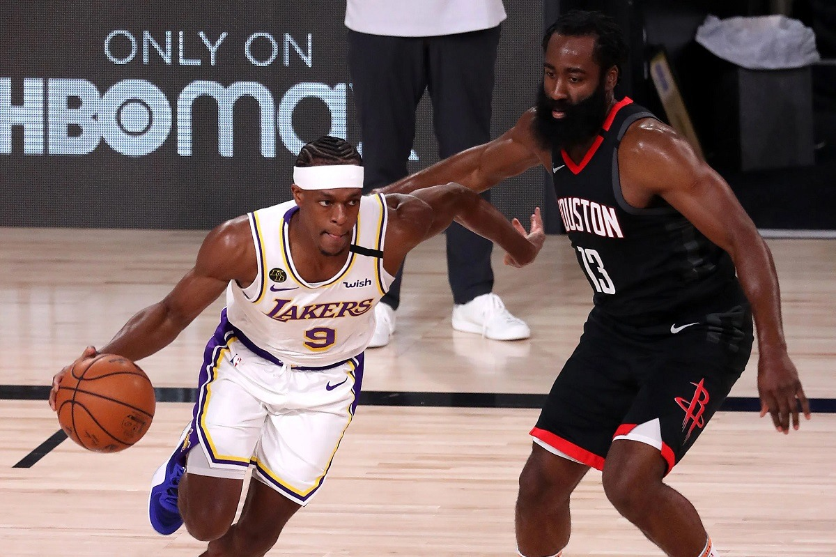Rajon Playoff Rondo LA Lakers Houston Rockets