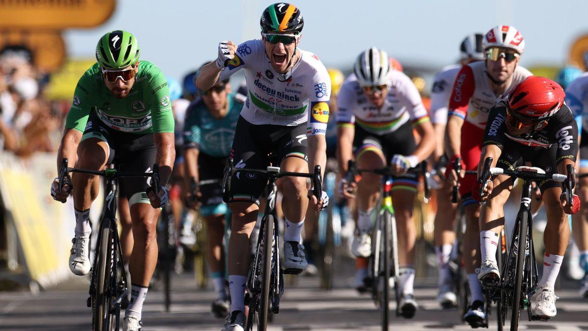 Sam Bennet Le Tour de France Stage 10 ile de Re