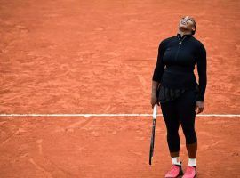 Serena Williams withdrew from the French Open before her second-round match due to an Achilles injury. (Image: Martin Bureau/AFP)