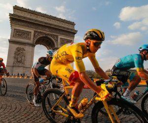 Tadej Pogacar Slovenia Wins 2020 Tour de France Le