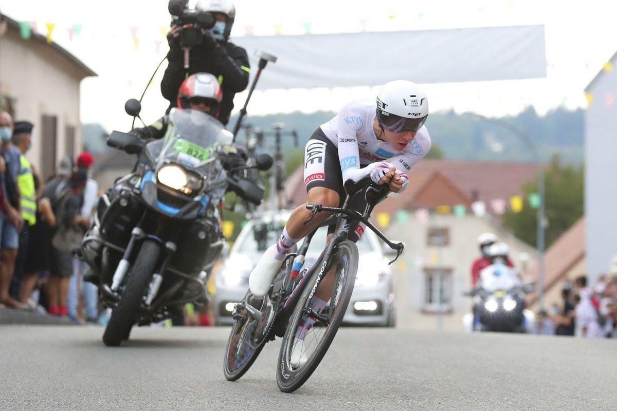 LE Tour de France Stage 20 Time Trial Tadej Pogacar