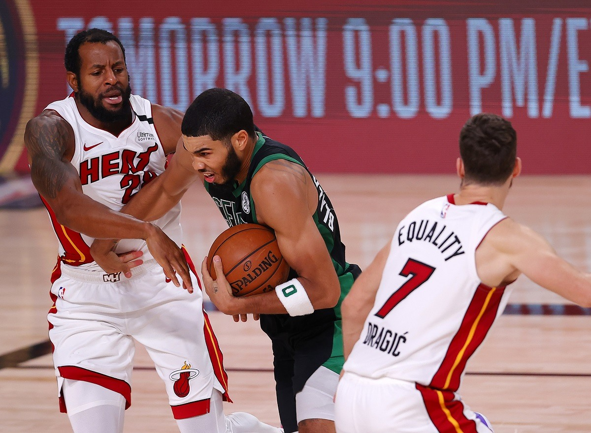 Boston Celtics Jayson Tatum Miami Heat East Finals