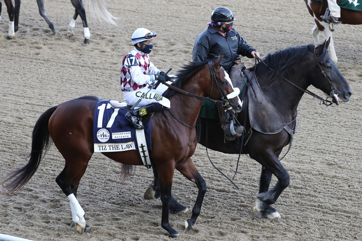 Tiz the Law-Skipping Preakness