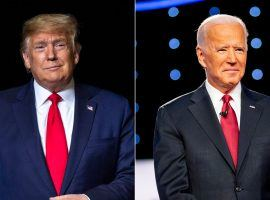DraftKings is offering players the chance to win $5,000 picking occurrences from the first presidential debate between Donald Trump and Joe Biden. (Image: USA Today)