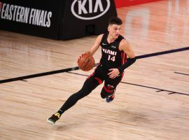 Rookie Tyler Herro took over for the Miami Heat in Game 4 with 37 points. (Image: Kim Klement/USA Today Sports)