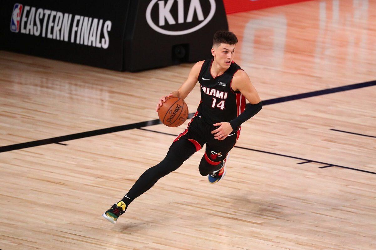 Miami Heat Tyler Herro rookie Pertandingan 4 37 poin