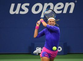 Victoria Azarenka rolled past Elise Mertens 6-1, 6-0 to set up a US Open semifinal clash against Serena Williams. (Image: Robert Deutsch/USA Today Sports)