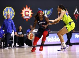 The Dallas Wings and Washington Mystics are tied for the final WNBA playoff spot with two games to play. (Image: Ned Dishman/NBAE/Getty)