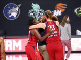 The Washington Mystics finished the regular season on a four-game winning streak to make the WNBA playoffs. (Image: Ned Dishman/NBAE/Getty)
