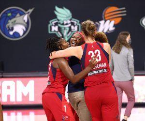 WNBA Playoffs Washington Mystics