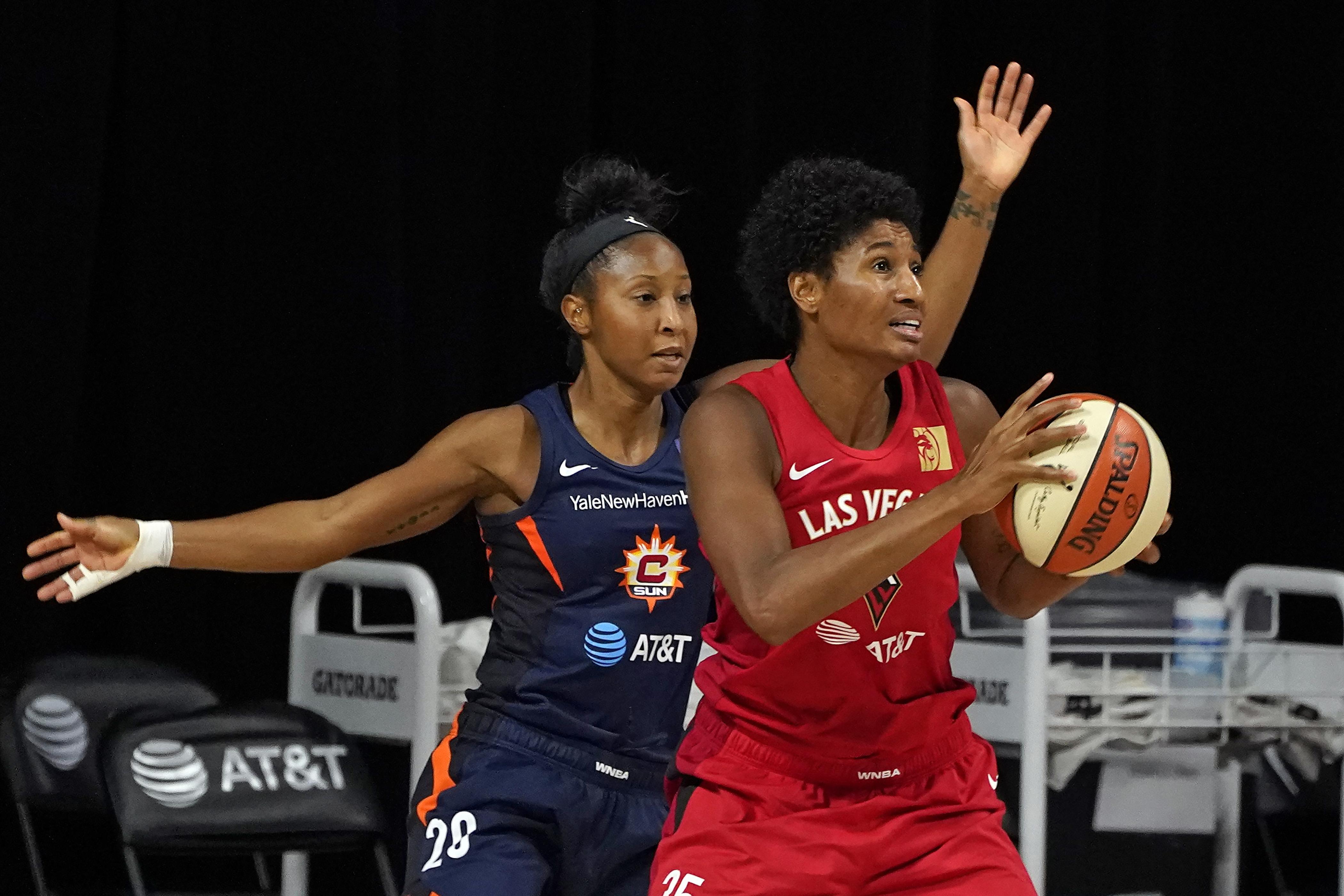 WNBA playoffs Aces Sun