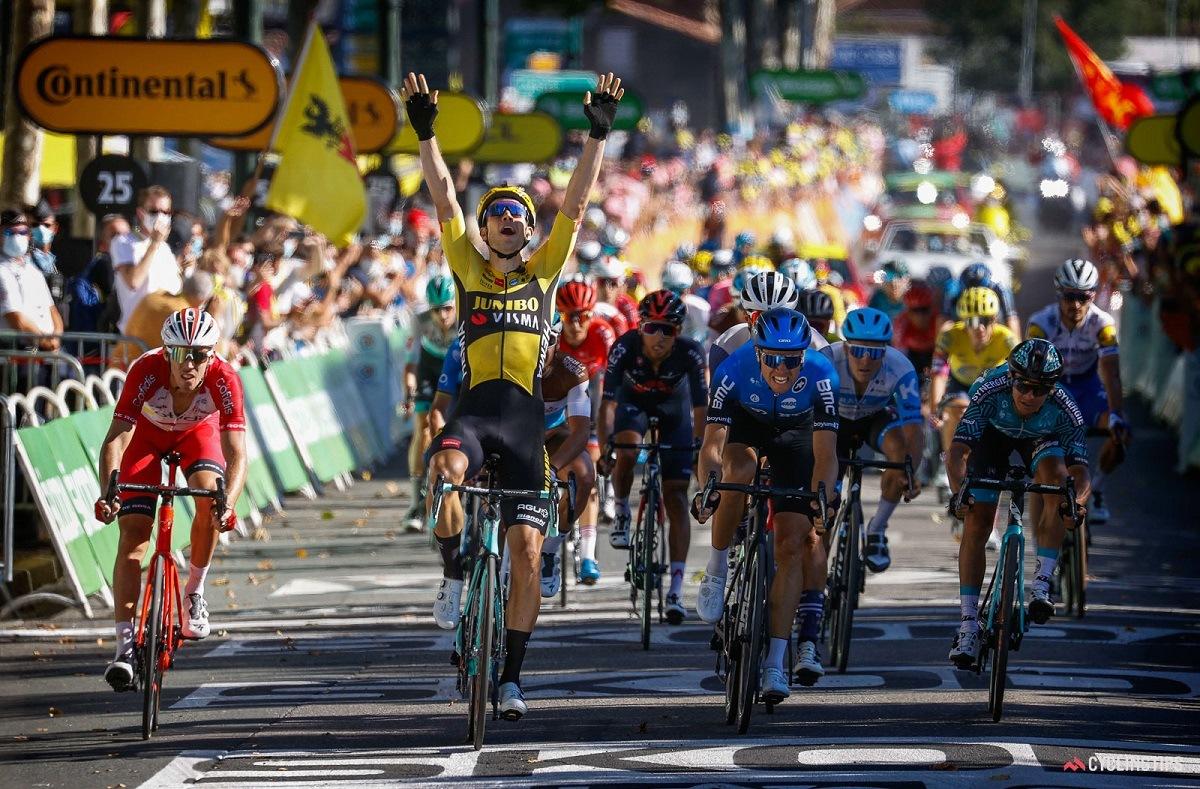 Stage 8 Le Tour de France Wout Van Aert Lavaur