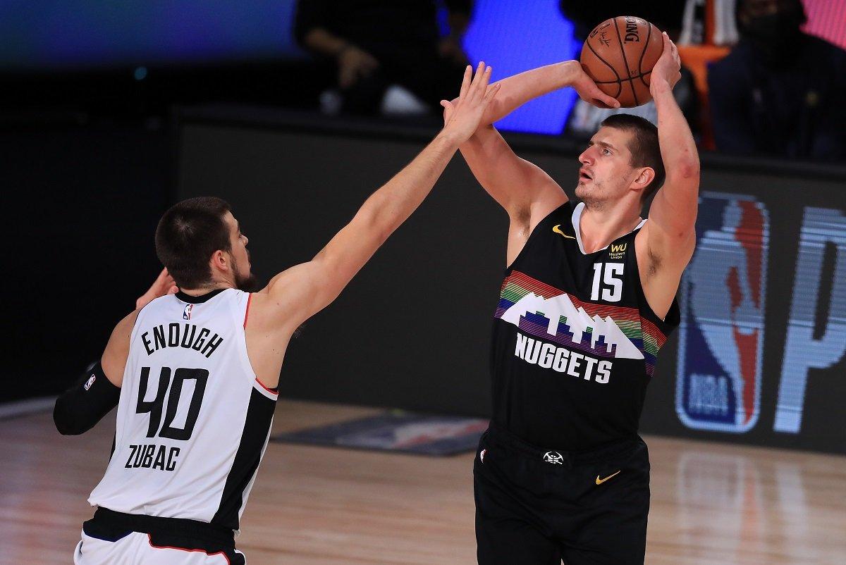 Nikola Jokic Pertandingan 7 Denver Nuggets Elimination Pertandingan 7 LA Clippers