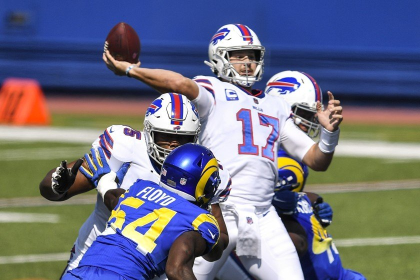 Josh Allen LA Rams NFL Week 3 winners and losers