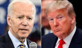 The first of three scheduled Presidential debates will be held Tuesday between Joe Biden and Donald Trump, and there are at least 40 prop bets gamblers can make. (Image: Getty)