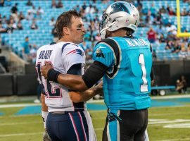Tampa Bay's Tom Brady and New England's Cam Newton are on different teams as they begin NFL Week 1's 2020 season. (Image: Getty)