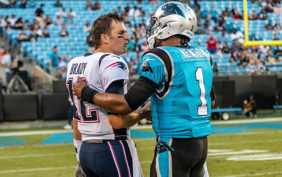 Tom Brady Cam Newton NFL Week 1
