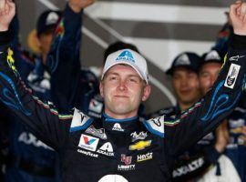 William Byron won the last regular season race at Daytona, and is a longshot that could win the NASCAR Cup Series Championship. (Image: Getty)