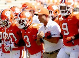 Clemson opens its season on the road against Wake Forest and is a 32.5-point favorite. (Image: Sideline Carolina)